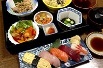 寿司松花堂弁当
