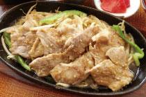 豚肩ロース生姜焼き定食