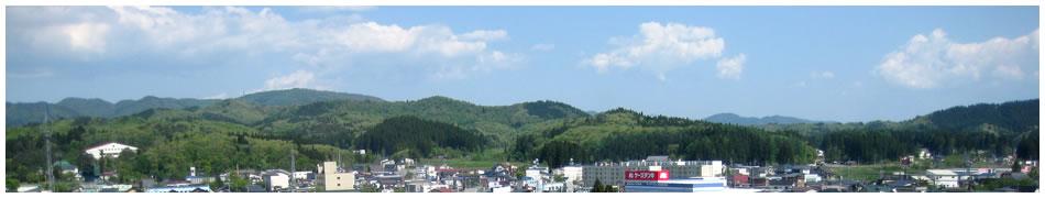 新庄の風景