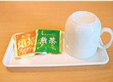 お茶、マグカップ