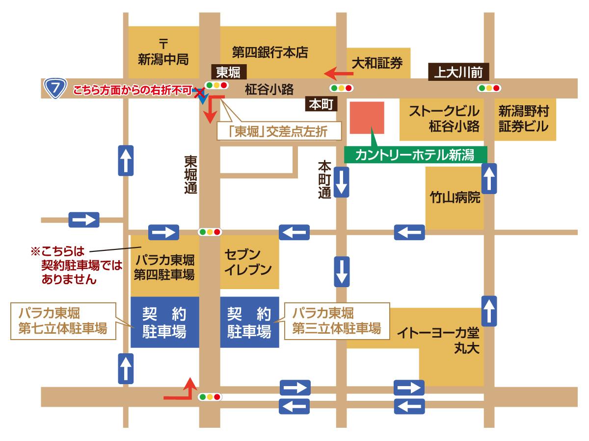 契約駐車場マップ