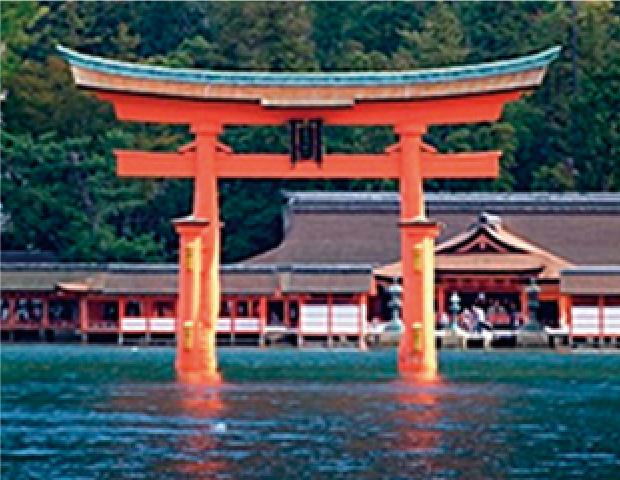 日本三景 安芸の宮島(世界遺産)