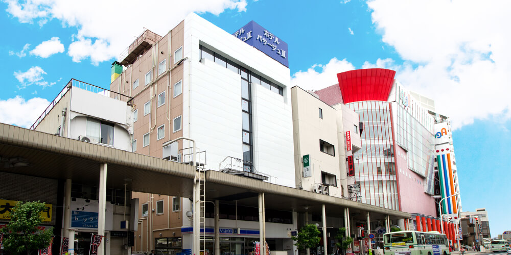 JR青森駅から徒歩3分