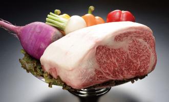 福島牛と郷土の野菜