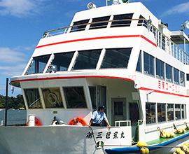 【松島観光遊覧船チケット付】50分の松島湾内の旅+笹かまの手焼き体験+焼き牡蛎をいただく!素泊まり