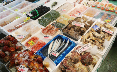 松島さかな市場で海の幸を堪能!