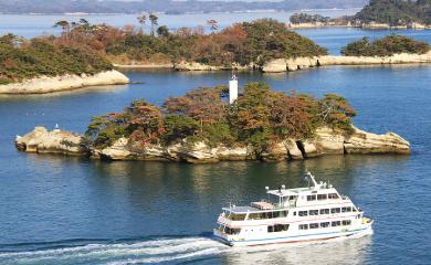松島湾内観光遊覧船