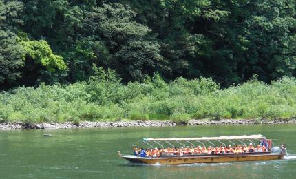 最上峡芭蕉ライン舟下り